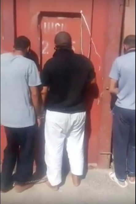Photo of Video…A footage reveals the brutal torture of Ahwazi detainees by the Iranian occupation forces