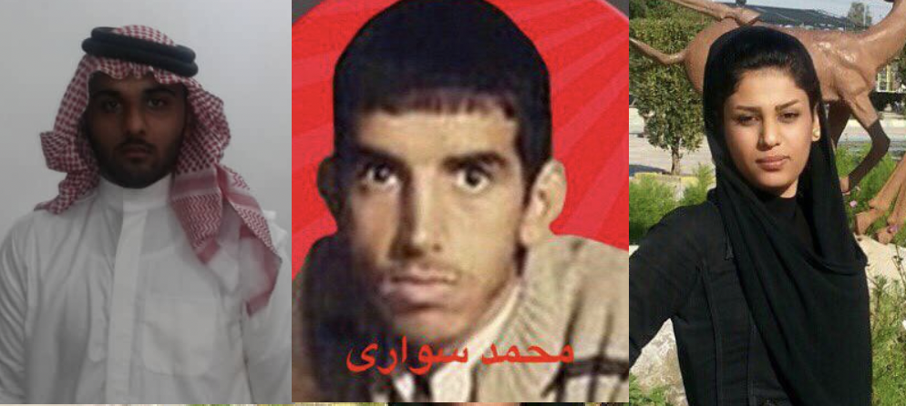 Photo of Ahwazi ill Prisoners with Fake Charges Against Them
