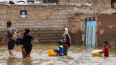 Photo of The high water level in the Karoon River and worries about deliberate floods in Al-Ahwaz